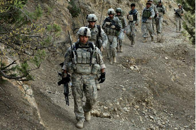 Flickr - The U.S. Army - Afghan Border Police in Paktiya province
