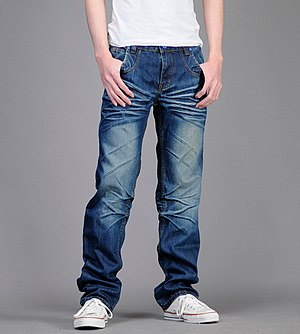 English: jeans for men 中文: 男用牛仔裤