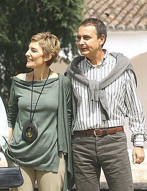 Sonsoles Espinosa and Zapatero