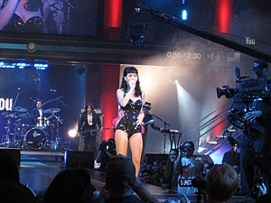 Show de Katy Perry em 2008.
