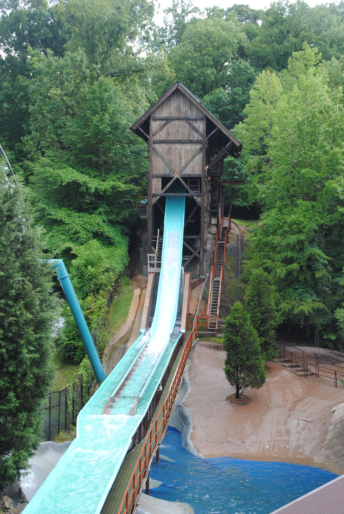 Le Scoot Log Flume Wikipedia