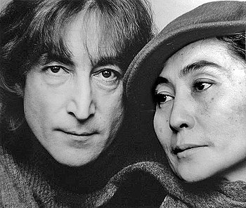 English: John Lennon and Yoko Ono