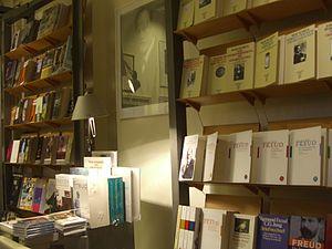 Español: Librería del Museo Sigmund Freud, Ber...
