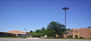 A view of Malabar Middle School on West Cook R...