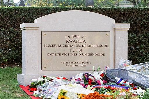 Père-Lachaise - Division 88 - Rwanda genocide memorial 01