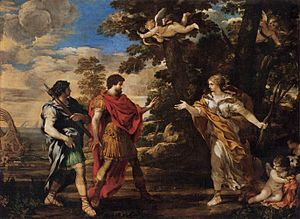 Venus as Huntress Appears to Aeneas