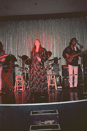 Tiffany performing at the Las Vegas Hilton, 1993