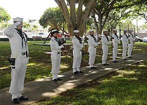 English: PEARL HARBOR (Nov. 11, 2010) Naval St...