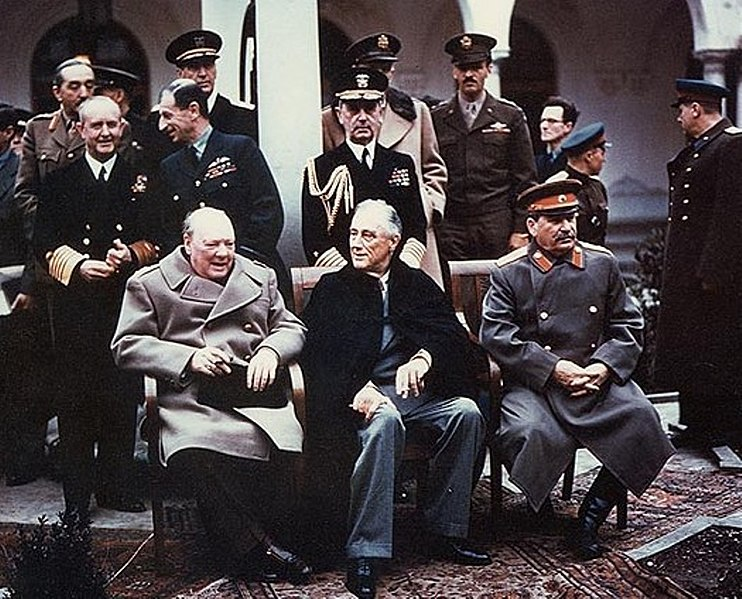 Yalta summit, 1945