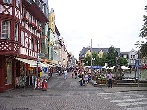 English: Mannheimer Straße, Bad Kreuznach Deut...