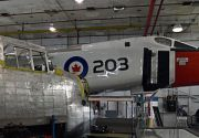 Avro Arrow on display at the Canadian Air and ...