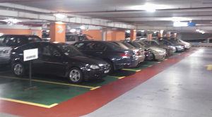 Global Aero Car Rental Parking for rental car