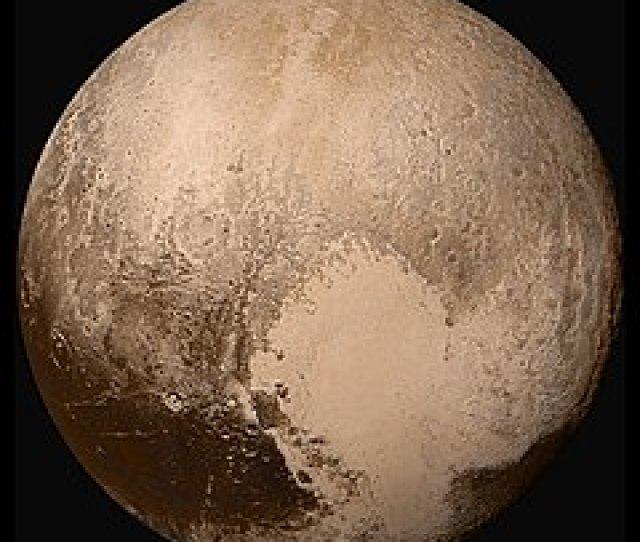 Global Lorri Mosaic Of Pluto In True Colour Jpg