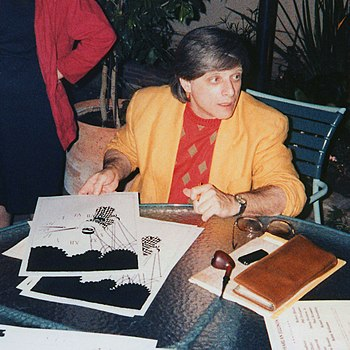 English: Harlan Ellison at the Harlan Ellison ...