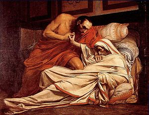 The Death of Tiberius, 1864 Oil on canvas, 69 ...