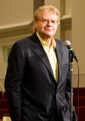Show host Jerry Springer