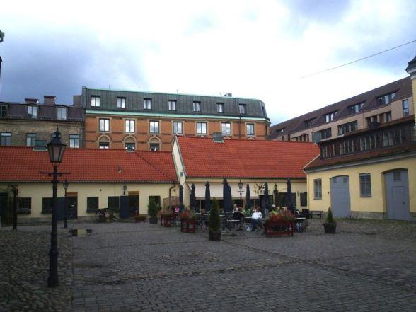 Östra delen av Kronhusbodarna