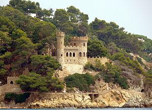 English: En Plaja's Castle, Lloret de Mar