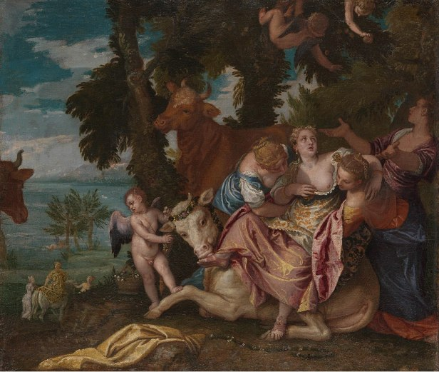 """The Rape of Europa"" by Paolo Veronese"