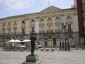 Teatro Español: Madrid, Plaza de Santa Ana.