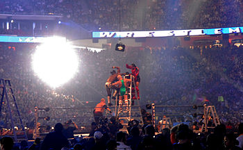 Money In The Bank Ladder Match From Wikipedia