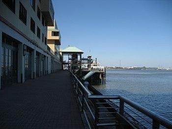 """""""Riverwalk Marketplace"""" shopping mal..."""