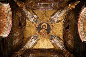 Vault of the San Zeno Chapel, Basilica di Sant...