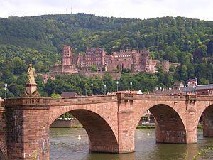 The Castle above the Old Stone Bridge