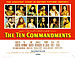 Movie poster of The Ten Commandments.