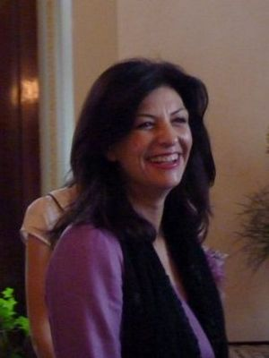 English: Jozefina Çoba Topalli (born 1963) is ...