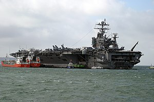 USS George HW Bush due to visit Portsmouth in May