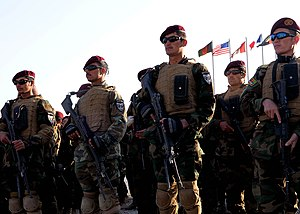 CAMP MOREHEAD, Afghanistan -- Afghan commandos...