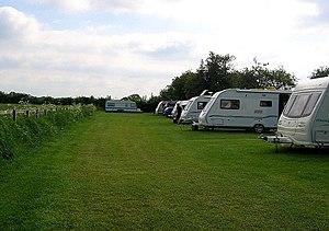 English: Caravan Site