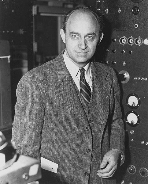 Enrico Fermi. Wikipedia.