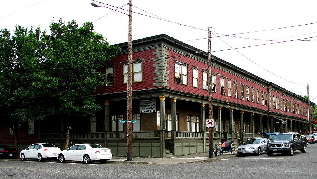 Fairmount Hotel Portland Oregon Wikipedia