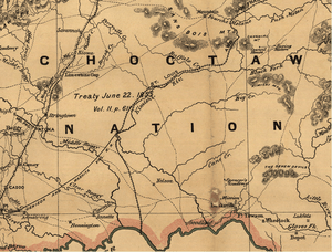 Indian territory: compiled from the official r...