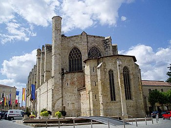 Cathedral of Saint Pierre in Condom (Gers, Fra...