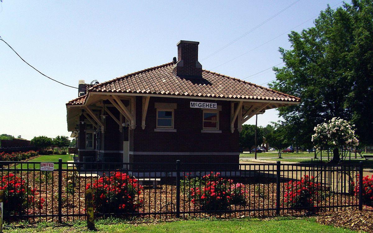 Missouri Pacific Railroad Depot Mcgehee Wikipedia