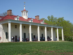 Mount Vernon plantation, near Alexandria, Virginia