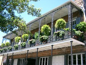 New Orleans - French Quarter - balcon