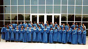 English: The Northwestern High School Gospel Choir