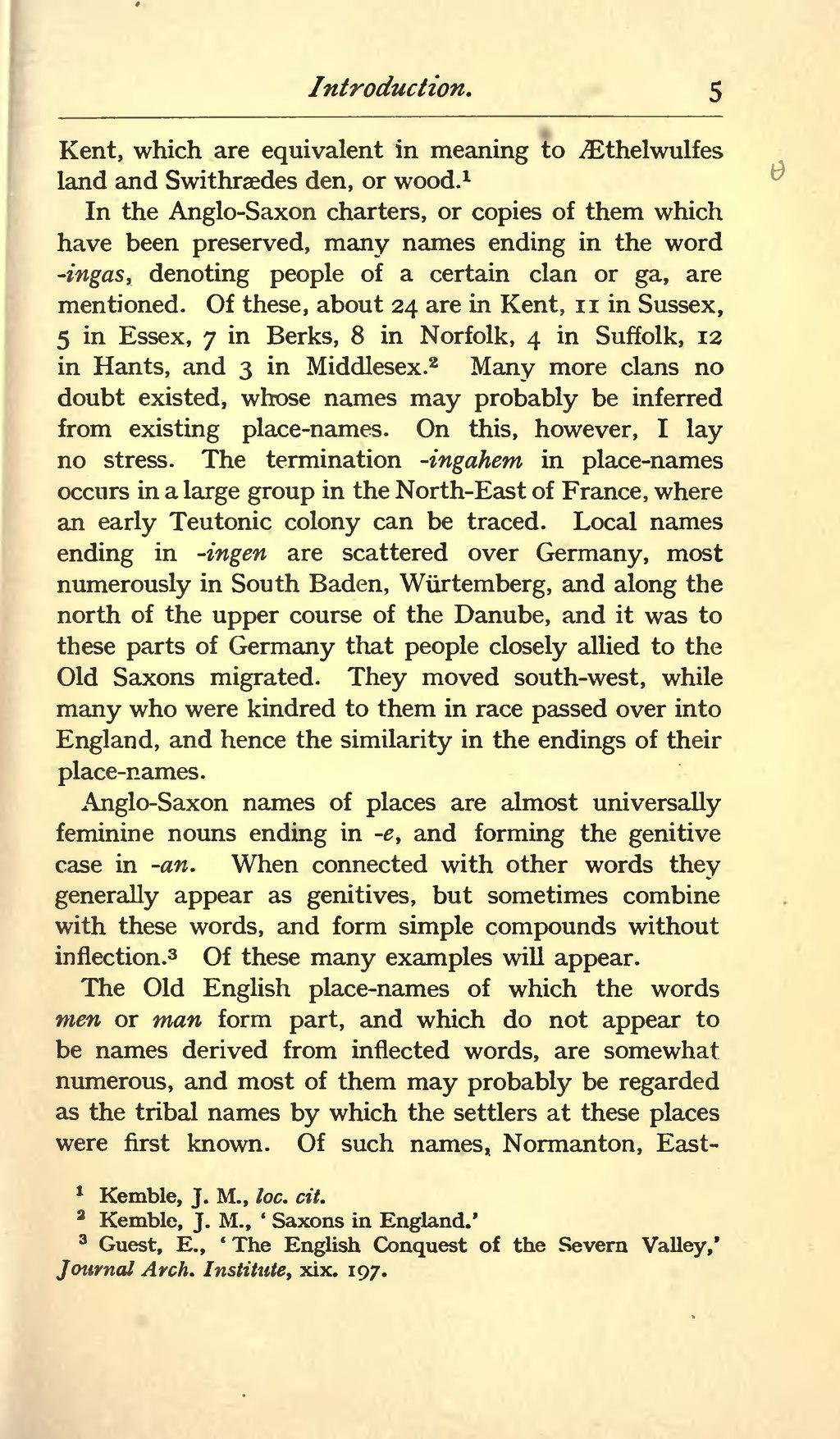 Page Origin Of The Anglo Saxon Racevu 19