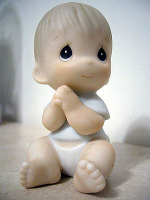 Precious Moments baby figurine