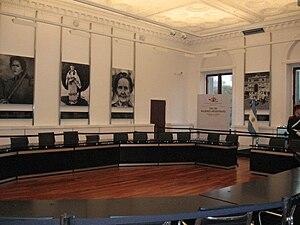 Español: Salón Mujeres del Bicentenario, en la...