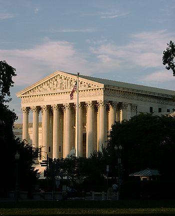 U.S. Supreme Court building in Washington, D.C...