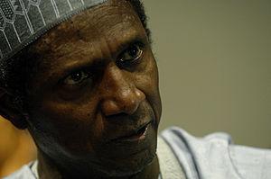 Nigeria President Alhaji Yar'Adua talks with N...