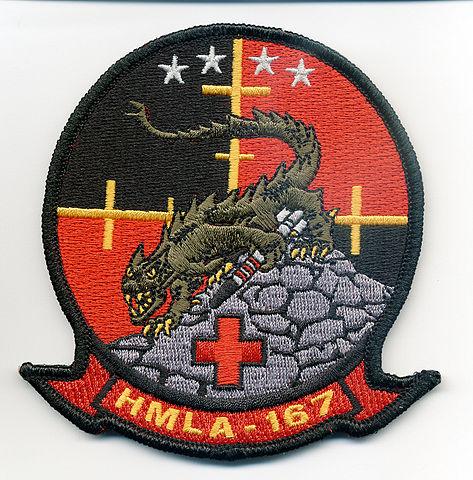 HMLA-167 logo