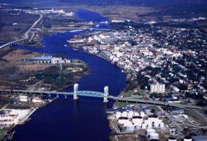 U.S. Coast Guard photograph of Wilmington, Nor...