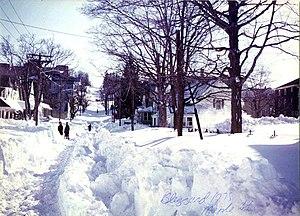 The Great blizzard of 1978. Taken on Maple Str...