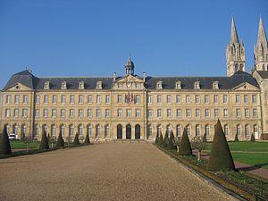 Town hall, Caen, France.
